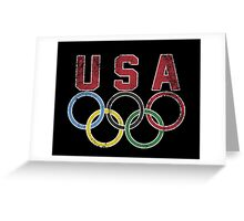 Olympic Games Greeting Card