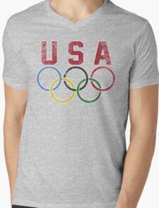 Olympic Games Mens V-Neck T-Shirt