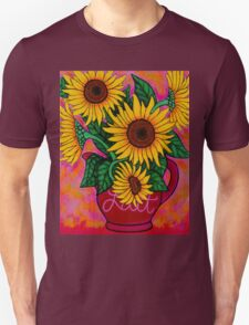 Saturday Morning Sunflowers Unisex T-Shirt