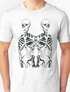 Double Skeleton  Unisex T-Shirt