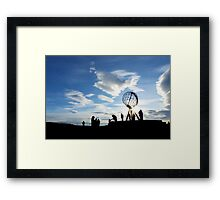 North Cape, Norway Framed Print