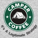 Camper Coffee by Royal Bros Art