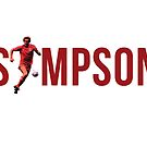 Neil Simpson (Print) by dollydigital