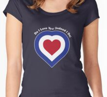 Do I Love You? Women's Fitted Scoop T-Shirt