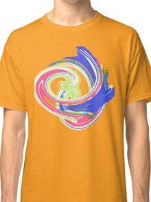 SWIRL blue pink  TEE SHIRT/BABY GROW/STICKER Classic T-Shirt