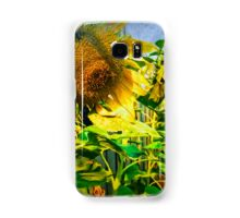 Home grown Sunflowers Samsung Galaxy Case/Skin