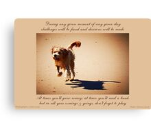 ~ Let's Play ~ a collaboration with Mark Lucey Canvas Print