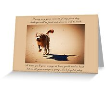 ~ Let's Play ~ a collaboration with Mark Lucey Greeting Card