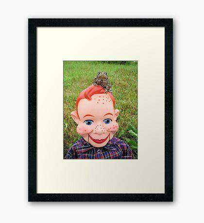 Fine Friends Framed Print