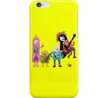 Sgt Finn's Awesome Friends Club Band iPhone Case/Skin