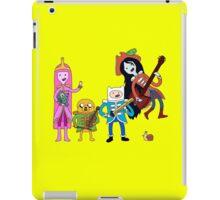 Sgt Finn's Awesome Friends Club Band iPad Case/Skin