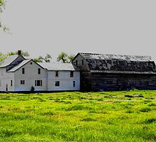 Old House/Barn Attachment by Larry Trupp