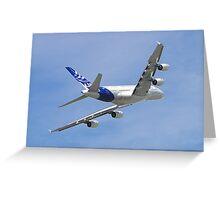 Airbus A380 Greeting Card