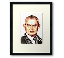 Doc Martin : Martin Clunes Framed Print