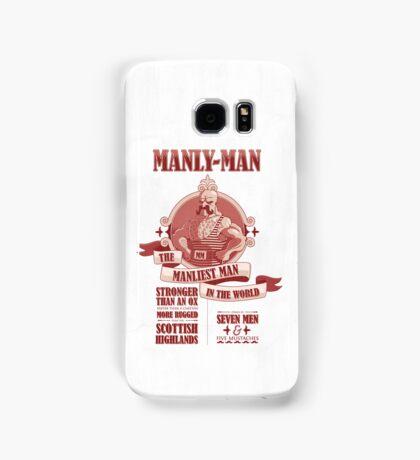Manly-Man Samsung Galaxy Case/Skin