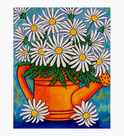 Crazy for Daisies Photographic Print