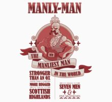 Manly-Man T-Shirt