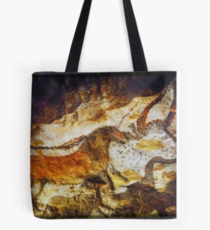 Paleolithic cave painting, Lascaux Cave, France.  Tote Bag