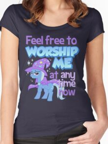 Worship Trixie Women's Fitted Scoop T-Shirt
