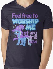 Worship Trixie Mens V-Neck T-Shirt