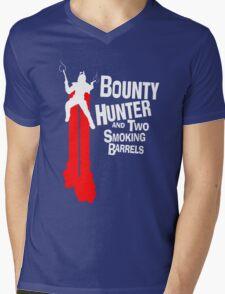 GALACTIC SMOKING BARRELS Mens V-Neck T-Shirt