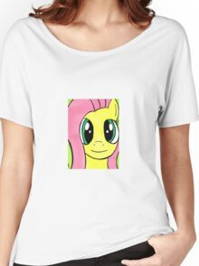 Fluttershy from My Little Pony Women's Relaxed Fit T-Shirt