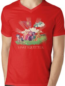 Pony Jima Mens V-Neck T-Shirt