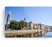 Girona, Historic centre,  Catalonia, Spain  Metal Print