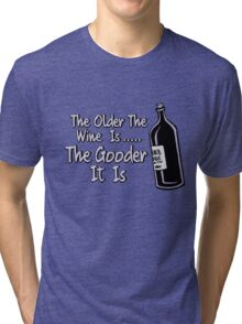Black Books - Bernard On Wine Tri-blend T-Shirt