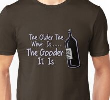 Black Books - Bernard On Wine Unisex T-Shirt