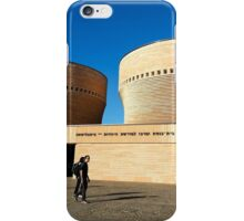 The Cymbalista Synagogue and Jewish Heritage Center, Tel Aviv University,  iPhone Case/Skin