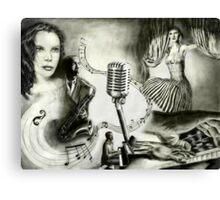 Big Jazz 88  Canvas Print