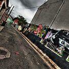 Alleyway Storm by Matthew Jones