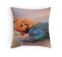 Irrepressibly Iridescent Throw Pillow