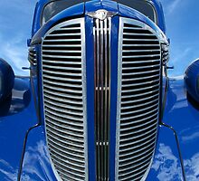 Blue Dodge by Antoine de Paauw