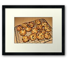Rock Cakes - Fresh from the Oven Framed Print