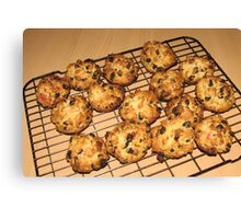 Rock Cakes - Fresh from the Oven Canvas Print