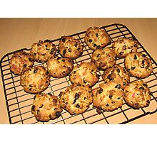 Rock Cakes - Fresh from the Oven Photographic Print
