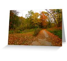 Happy Trails to you Greeting Card