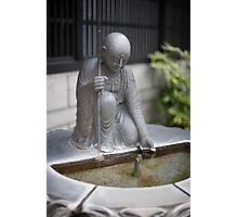 Onsen Fountain Detail Photographic Print