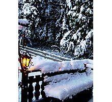 SNOWSCAPE, SORRENTO, B.C., CANADA Photographic Print