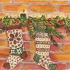 """And the stockings were hung..."" by Lynda Earley"