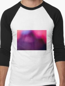 Abstract brilliant colorful abstract in purple  Men's Baseball ¾ T-Shirt