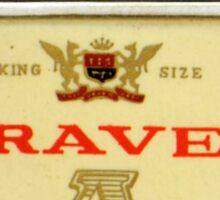 Retro Australian cigarette lighter Sticker