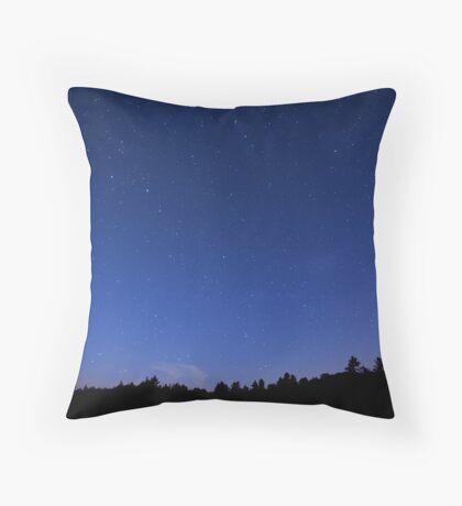 Starlight Night Throw Pillow