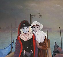 Venetian Girls by Howard Sparks