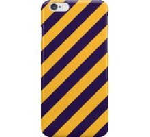 Los Angeles Lakers stripes iPhone Case/Skin