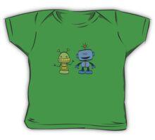 robot friends Baby Tee
