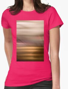 Golden Abstract brilliant colorful abstract Womens Fitted T-Shirt