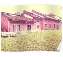 Traditional Chinese Houses Poster